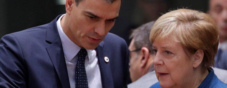 Pedro Sánchez y el New Deal europeo